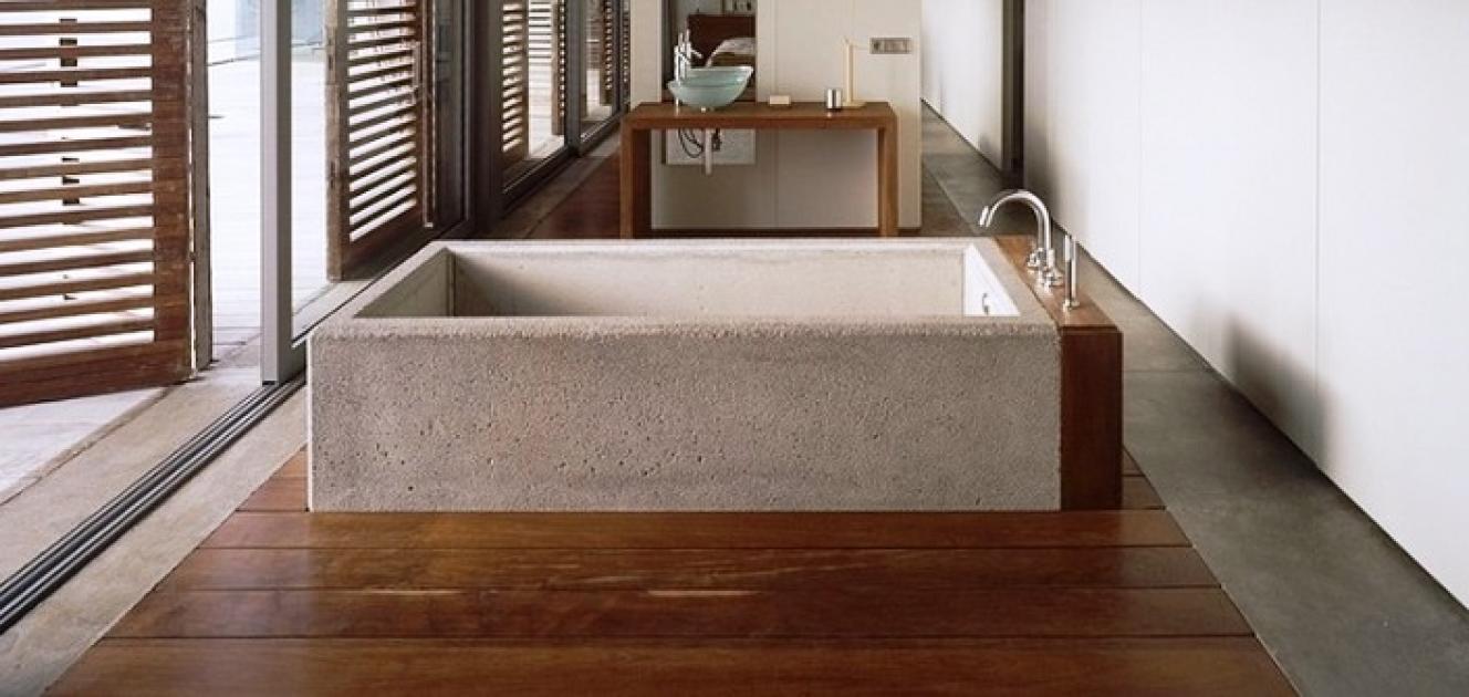 Ванна из бетона своими руками технология возведения Видео 15